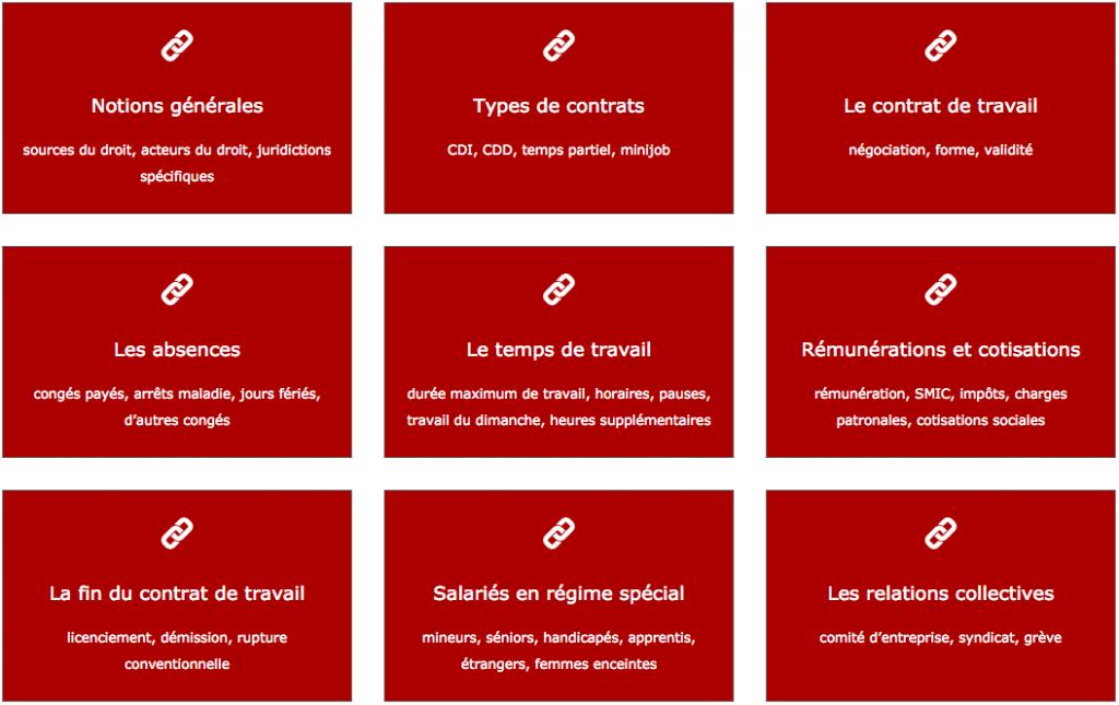 Guide pratique du Droit du travail franco-allemand - impact avocats